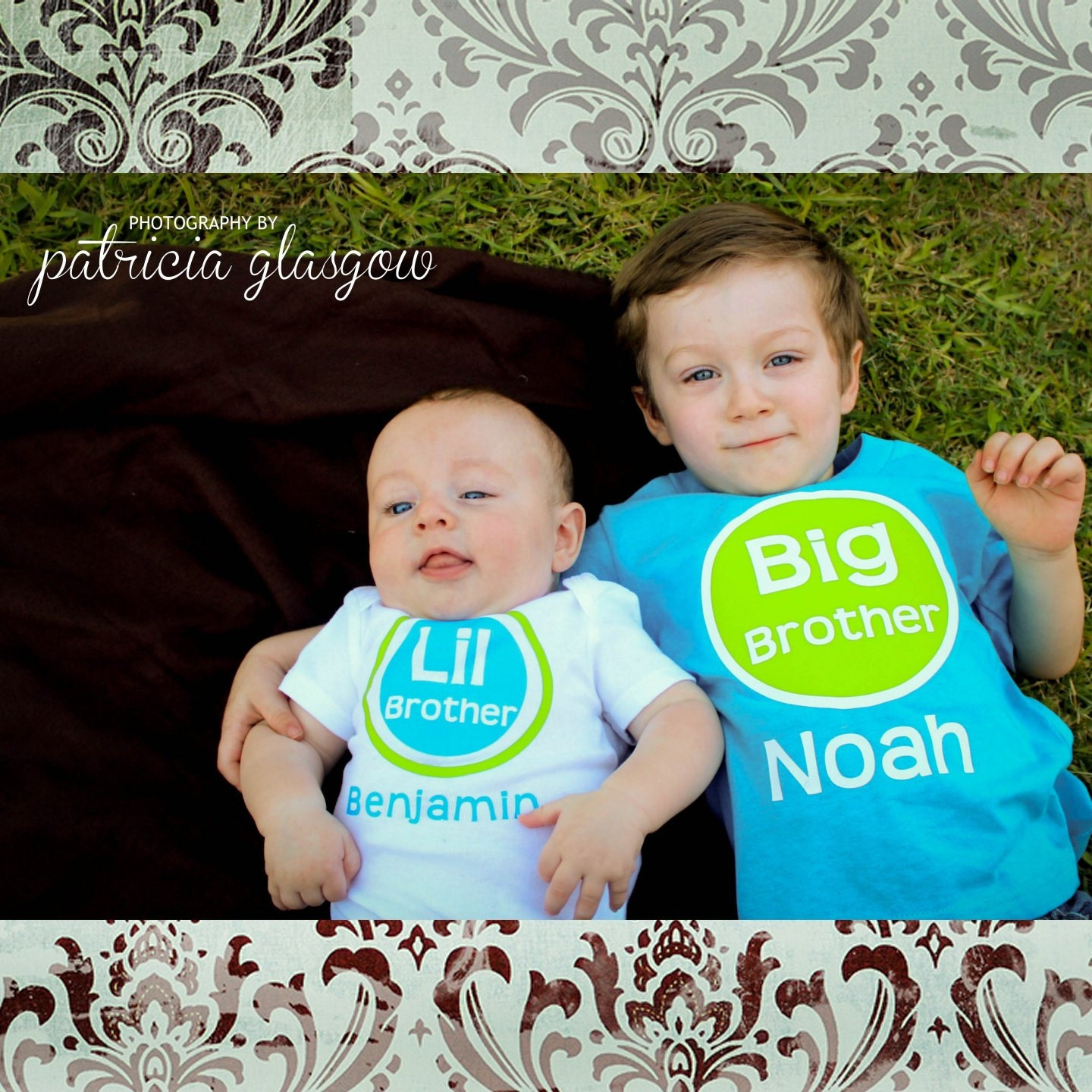 Big Brother Little Brother Shirt Set Of 2 By