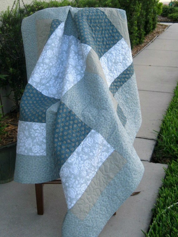 Slate Blue - Modern/Contemporary Quilt