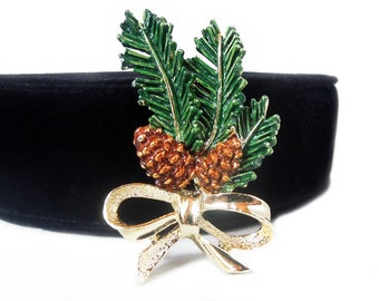 Gerrys Pine Bough Brooch, ca. 1960s to 1970s