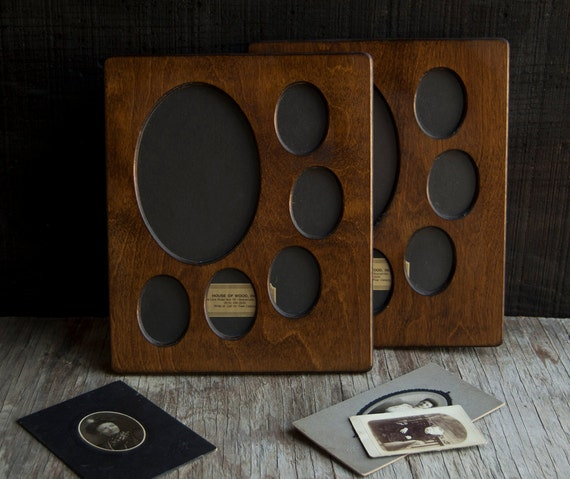 Vintage Frame Collection- Victorian Wooden Oval