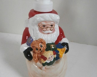 Xmas Santa Soap Dispenser