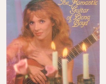 Romantic Guitar of Liona Boyd - Lovely Classical and Pop Music, Vintage Vinyl Record Album Silver Eagle LP