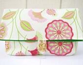 Pouch, Bag, Floral bag, Makeup Bag, Floral Pouch