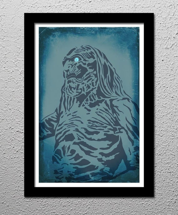 White Walkers - Game of Thrones Art Poster Print