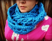 Crochet Infinity Scarf Pattern for Adults and Teens