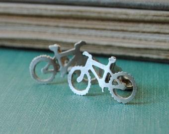 Mountain Bike Cufflinks