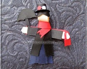 Mary Poppins Mary Poppins Ribbon Sculpture Character Hair Clip