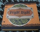 Halloween Fright Night Scrapbook Mini Album