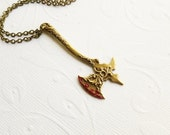 Bloody Axe Necklace - Gothic