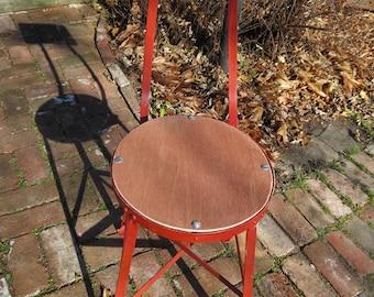 Vintage Metal Chair.