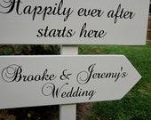 """Wedding Arrow's on Stand - 24"""" x 7.25"""" & 22"""" x 7.25"""""""