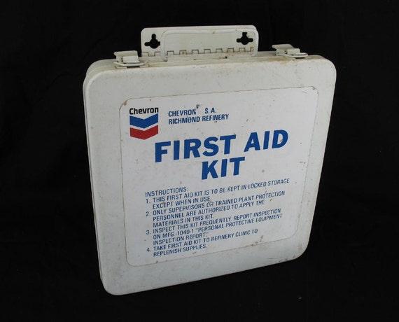 Chevron First Aid Kit Chevron Richmond Refinery