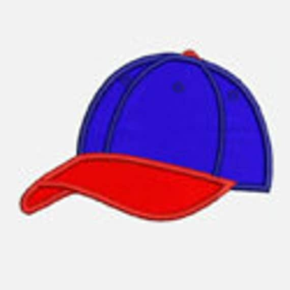 Baseball Cap...Embroidery Applique Design...Three sizes for multiple hoops...Item1252.