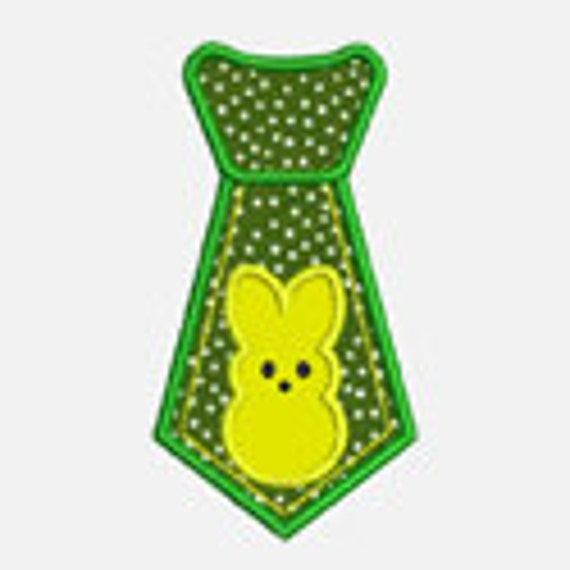 Peep Tie...Embroidery Applique Design...Three sizes for multiple hoops...Item1501.