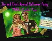 Zombie Prom Invite