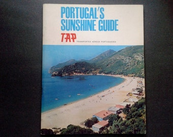 Portugal's Sunshine Guide Booklet TAP Portuguese Airways 1967