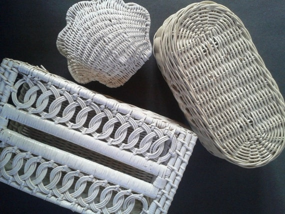 white wicker bathroom accessories vintage cottage On white wicker bathroom accessories