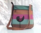 RESERVED for EMSZIKE: Modern messenger bag tote shoulder bag cross body bag