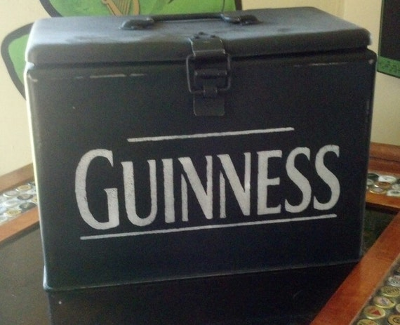Guinness Antique Steel Portable Insulated Cooler