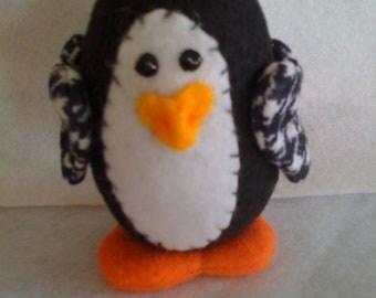Penguin Soft Sculpture