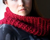Infinity Scarf/Cowl - COZY COWL - Hand Knit