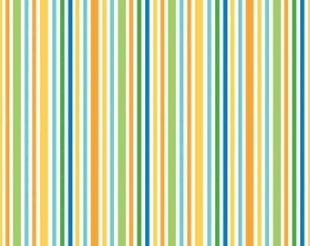 SALE 1 Yard of Zoofari Stripe by Doodlebug Design for Riley Blake