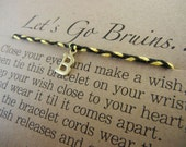 Love my Bruins Inspired Wish Bracelet