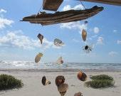 Seashell and Sea Glass Wind Chime