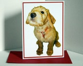 Cute Puppy Blank Card, Note Card, Greeting Card, Photo Card/s