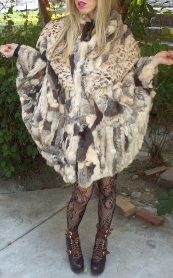 Luxury Fur Cape Insane Avant Garde Coat