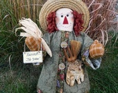 "Scarecrow Doll - Albert - 18"" Tall"