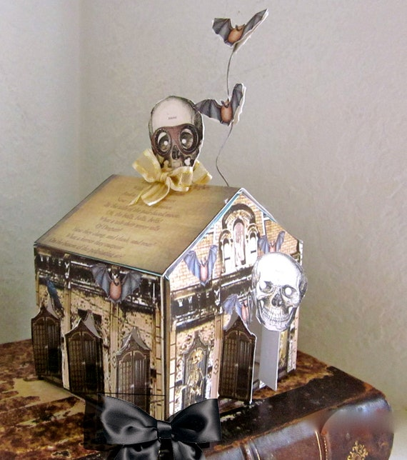 DIY Halloween Decor Steampunk Haunted House By