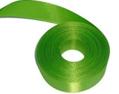 "Destash...Green Ribbon 7/8"" X 12 yards"