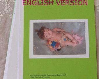 Cloth doll e-pattern/ english language/ Soft Baby Doll BIMBO