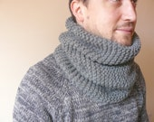 Men Neck Warmer - Chunky Cowl