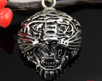 Tiger Head Stainless Steel Pendant-TG03