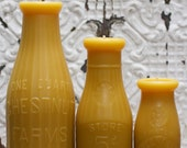 Beeswax Candle Collection - 1940's Milk Maiden Trio