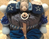NFL Dallas Cowboys Diaper Cake