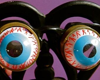 Take 20% Off  Vintage Bloodshot SLINKY EYES Glasses