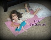 PDF Quick And Easy Kindermat Cover TUTORIAL - Nap Mat Cover - Napmat, Kinder mat - ePATTERN - Daycare, Preschool Naptime Mat