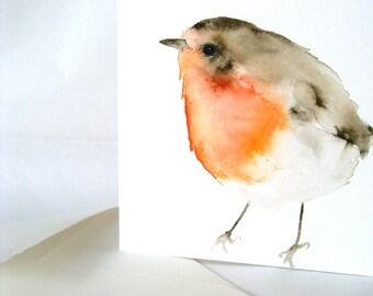 Card Set Art Cards Four Robins