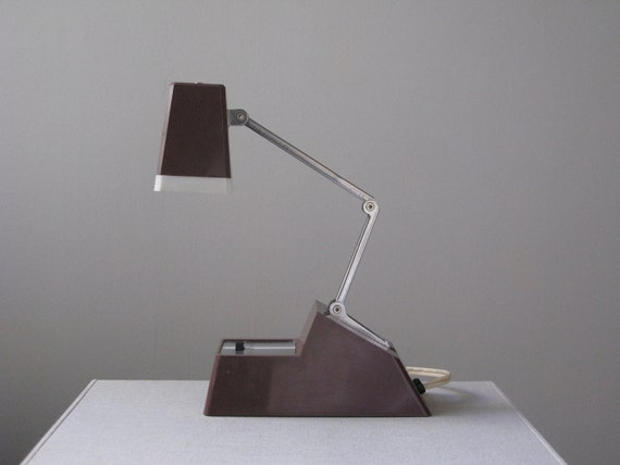 Vintage 70s Folding Task Lamp