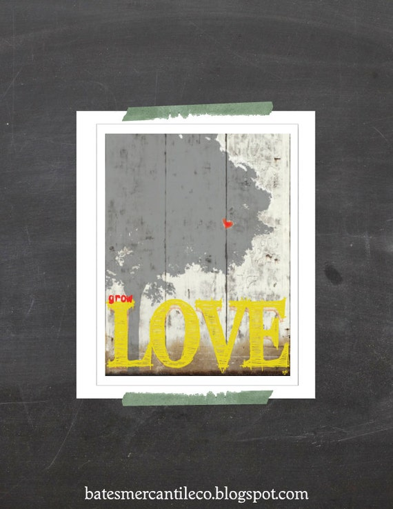 IllustrationTypography Print, Illustration Inspirational PRINT, Love Wall Art, Typography Illustration, Black Friday Sale