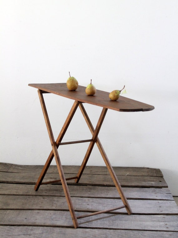Small Ironing Board Vintage Wood Ironing Board