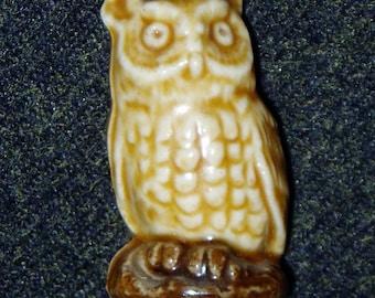 Wade Pottery Whimsy, Barn Owl, 1970s