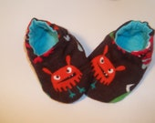 Newborn Baby Shoes Booties  - Little Monsters