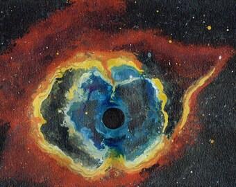 Space IV (The Third Eye Nebula)