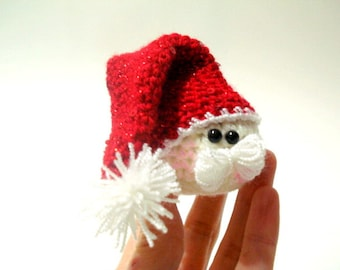 Pattern - Amigurumi Santa Claus Pattern, Crocheted Santa Pattern, Christmas Gifts, Christmas ornaments, Tutorial
