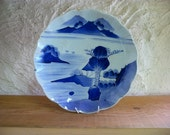 Blue and white 2357A, late 1800s, kintsugi