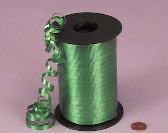 Tanday Emerald Green 500 yards Balloon Curling Ribbon